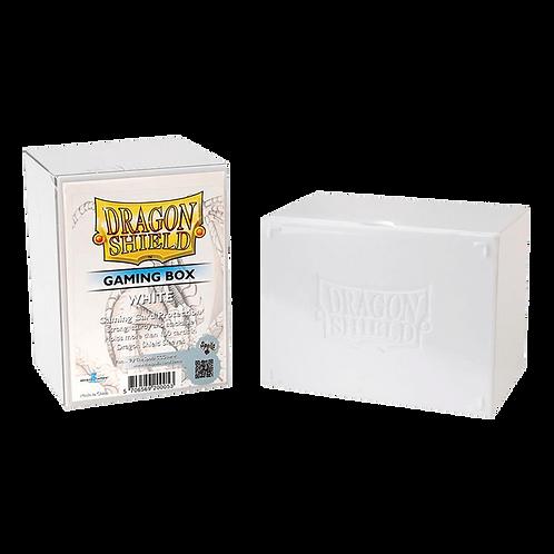 Boîte de protection de Deck Dragon Shield STRONGBOX blanche