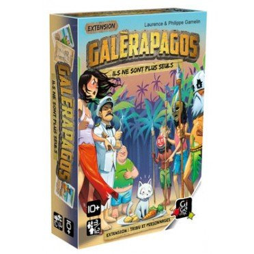 GALERAPAGOS : Ext. Tribu et Personnages