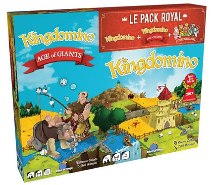 KINGDOMINO : Pack Royal