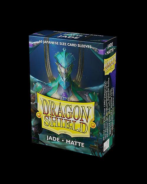 Dragon Shield-format japonais 60 sleeves : JADE MATTE
