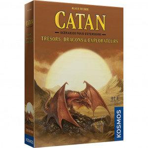 CATAN Ext : Scénario Trésors, Dragons & Explorateurs