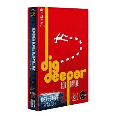 Dig Deeper - extension pour le jeu DETECTIVE