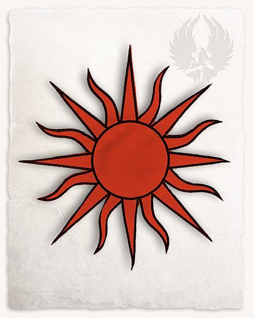 Patch SOLEIL Rouge