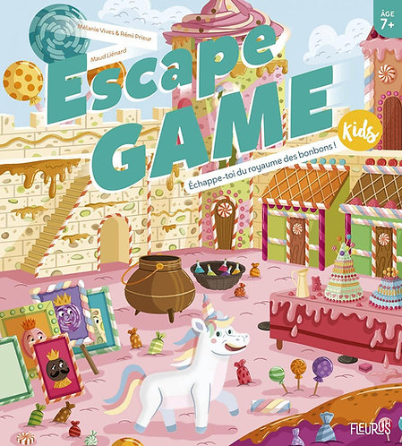 Escape Game Kids : Echappe-toi Du Royaume Des Bonbons !