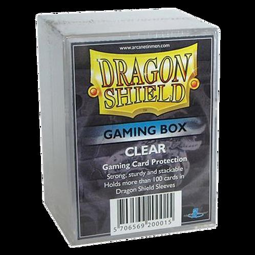 Boîte de protection de Deck Dragon Shield STRONGBOX clear