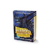 Dragon Shield-format japonais 60 sleeves : NIGHT BLUE CLASSIC