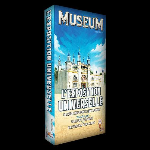 MUSEUM, extension : l'Exposition Universelle