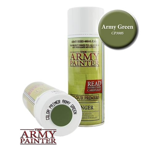 Bombe de Sous Couche Army Green Army Painter