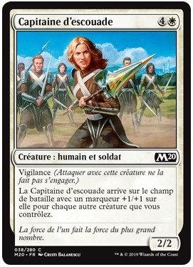 Blanche - Capitaine d'escouade (M20)