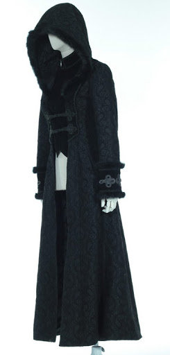 Manteau SERANA Noir
