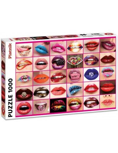 Puzzle Belles Lèvres 1000 Pièces