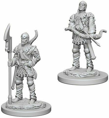 D&D Figurines TOWN GUARDS