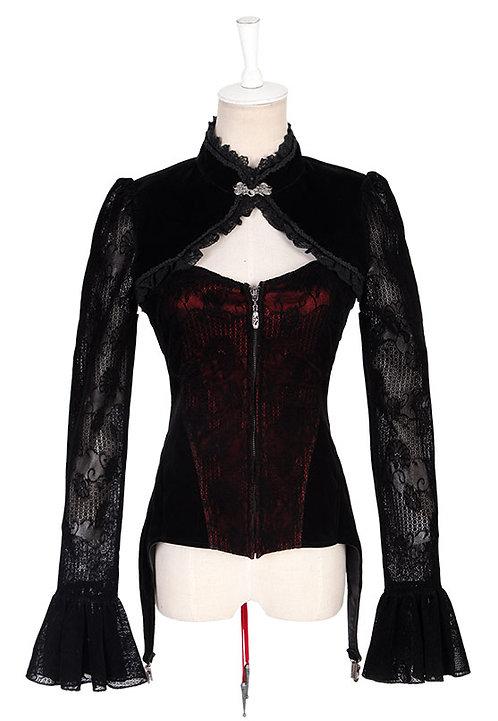 Veste NOBLESSA Noir/Rouge