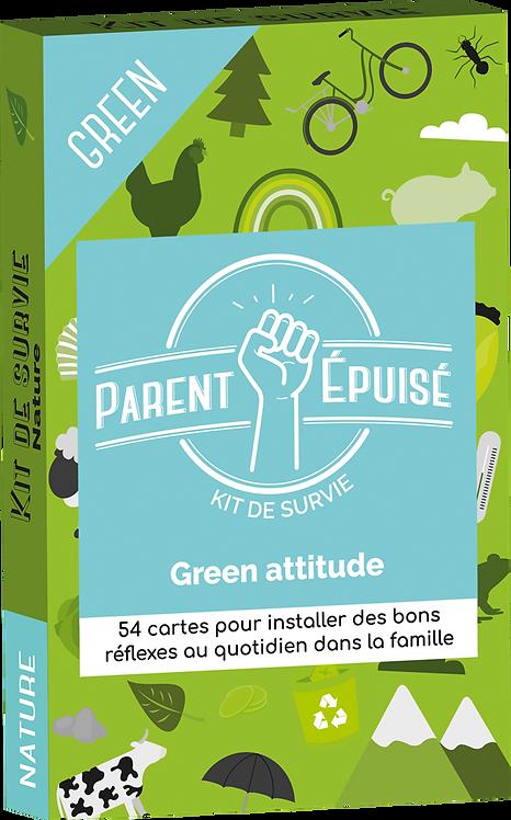 KIT DE SURVIE PARENT EPUISE - GREEN ATTITUDE