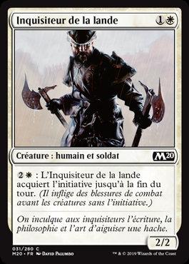 Blanche - Inquisiteur de la lande (M20)