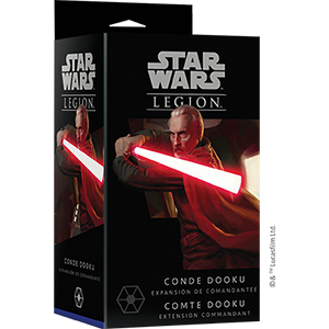 Star Wars LEGION : COMTE DOOKU