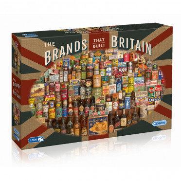 Puzzle The Brands That Built Britain 1000 Pièces