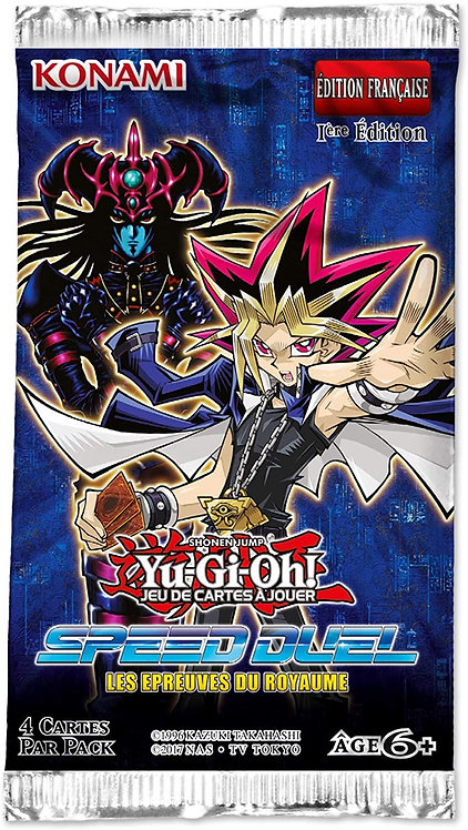 YU-GI-OH ! SPEED DUEL : Boosters Les Épreuves du Royaume