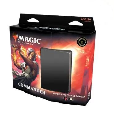 """MAGIC: Deck de Commander """"Armez-vous pour le combat"""" VF"""