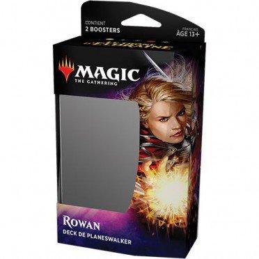 MAGIC : Deck de PLANESWALKER ROWAN - Le Trône d'ELDRAINE