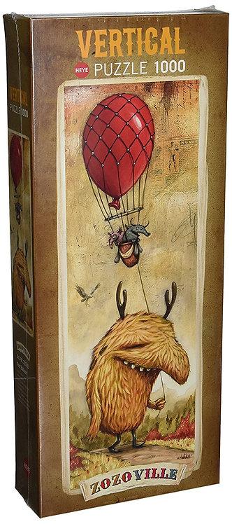 Puzzle ZOZOVILLE - Red Ballon 1000 Pièces