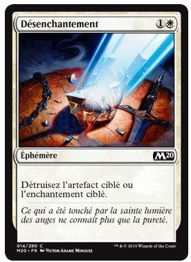 Blanche - Désenchantement (M20)