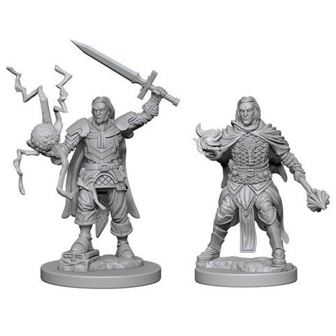 D&D Figurines HUMAN MALE CLERIC