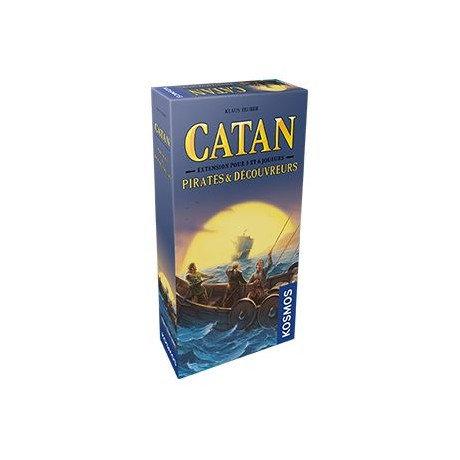 CATAN PIRATES ET DECOUVREURS : EXT 5-6 JOUEURS
