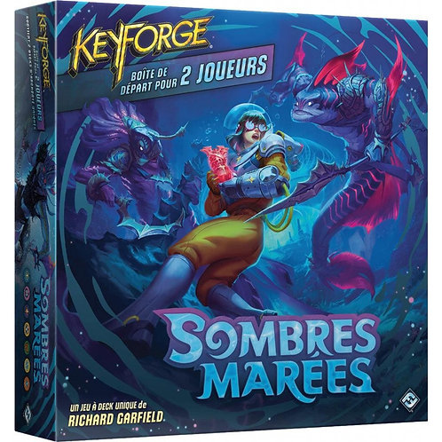 Keyforge Sombres Marées - Set de démarrage