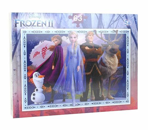 PUZZLE La Reine des Neiges PERSONNAGES 63 P