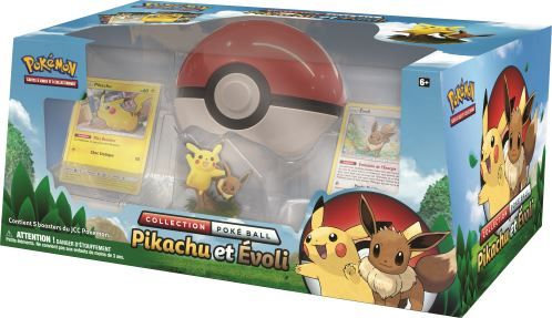 Pokémon Coffret COLLECTION POKEBALL Pikachu & Evoli