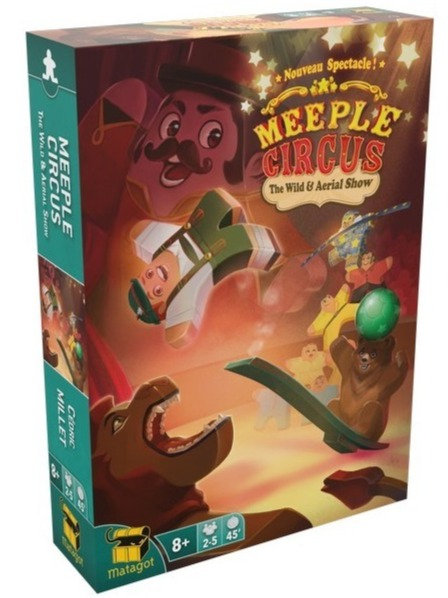 MEEPLE CIRCUS : EXT. THE WILD ANIMAL AND AERIAL SHOW