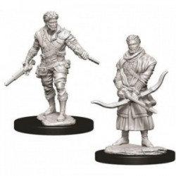 D&D Figurines HUMAN ROGUE