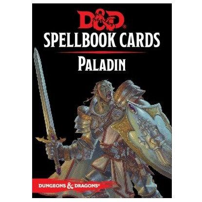 D&D : Spellbook Cards : PALADIN FR