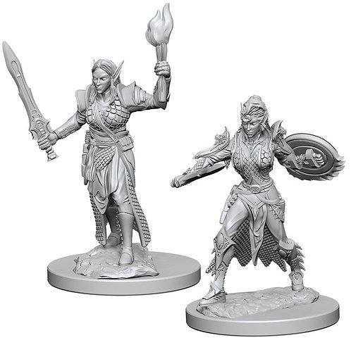 D&D Figurines ELF FEMALE FIGHTER