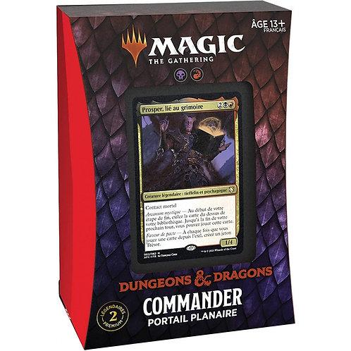 Deck de Commander - PORTAIL PLANAIRE - D&D Magic: the gathering