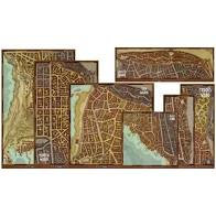 D&D 5e EDITION : WATERDEEP DRAGON HEIST MAP SET