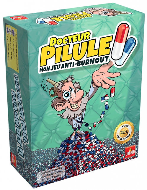 DOCTEUR PILULE Mon Jeu Anti Burn-Out