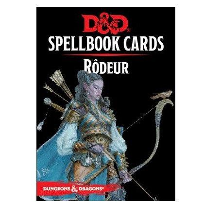 D&D : Spellbook Cards : RÔDEUR FR