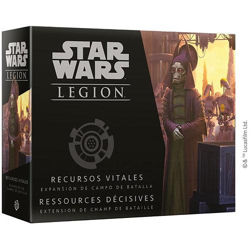 Star Wars Legion : RESSOURCES DECISIVES EXTENSION de Champ de Bataille