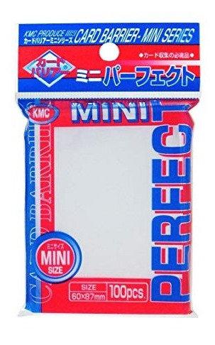 KMC 100 protèges cartes Mini Perfect Size