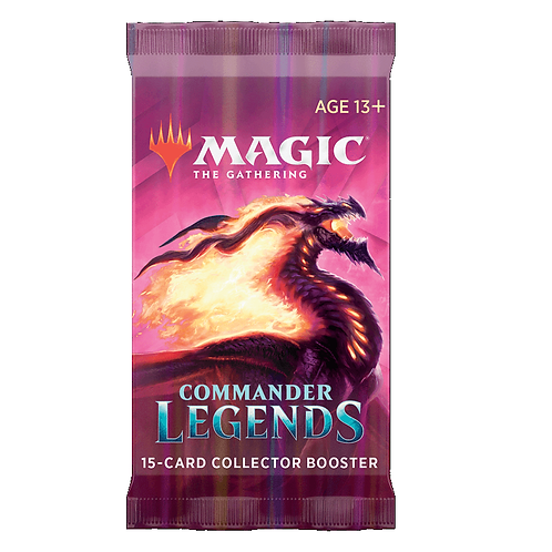 MAGIC: Boosters Collector COMMANDER LEGENDES VF