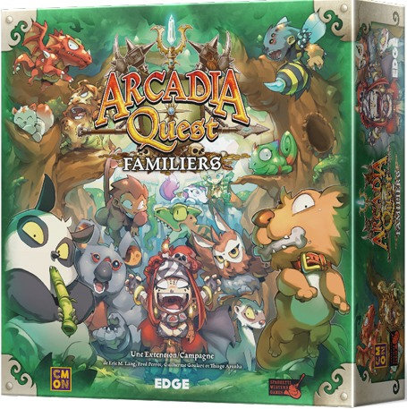 Arcadia Quest : Familier