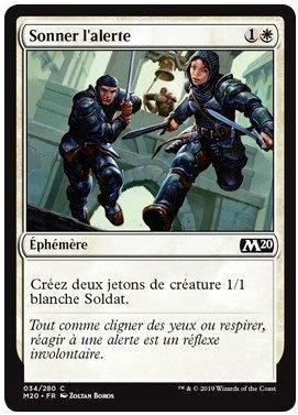 Blanche - Sonner l'alerte (M20)