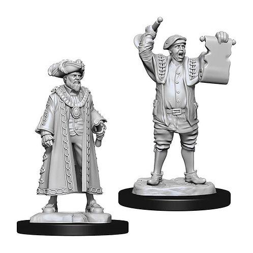 D&D Figurines MAYOR & TOWN CRIER