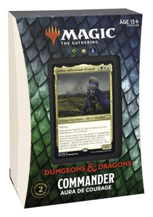 Deck de Commander - AURA DE COURAGE - D&D Magic: the gathering