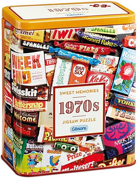 Puzzle 1970s - Sweet Memories 500 Pièces
