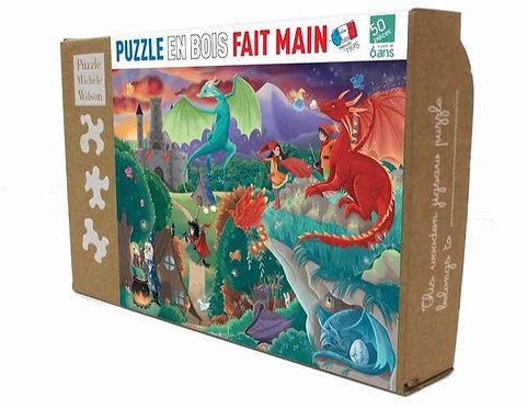Puzzle Michèle Wilson - Les Dragons 50 P
