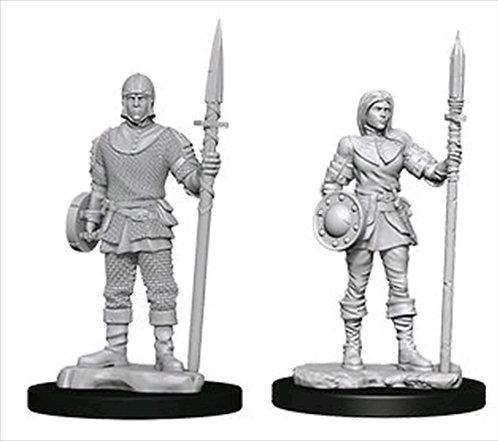 D&D Figurines GARDES (Guards)