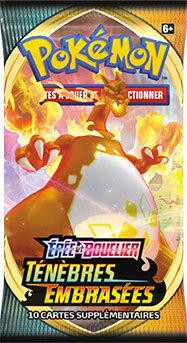 Pokémon Épée et Bouclier TENEBRES EMBRASEES Booster